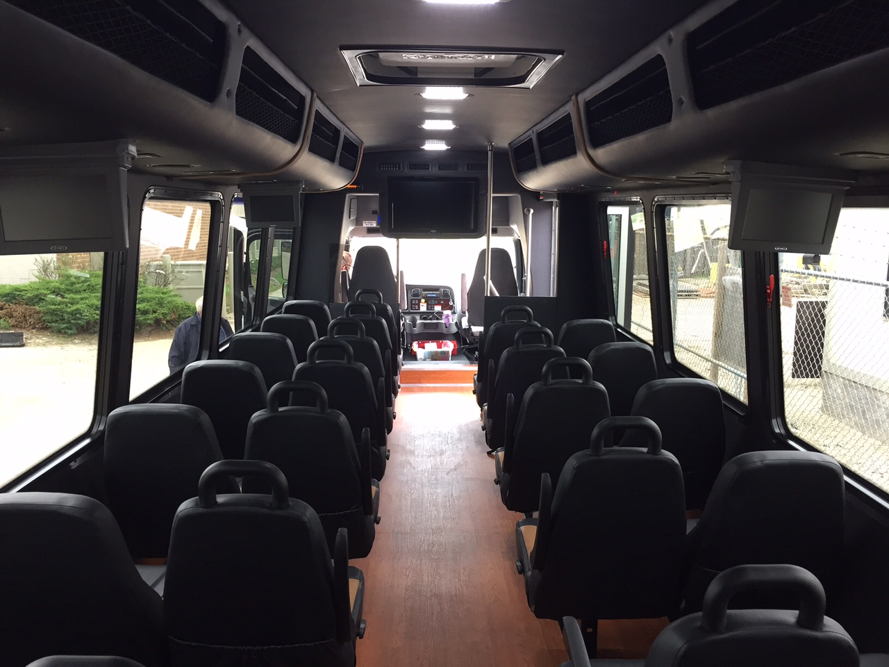 Charter Bus Rental Naperville Party Bus Rental Aurora IL Spare - Do charter buses have bathrooms
