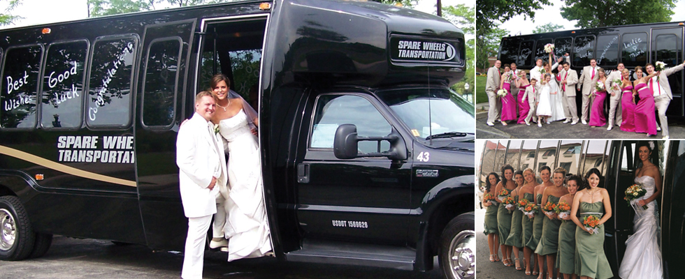 Wedding Limo Bus